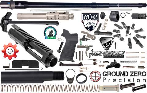 "20"" .308 AR Ultimate Project Build Kit (1) - 308-FX-NLM-SI-KIT-29-1"