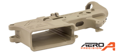 Stripped AR15 Lower Receiver FDE