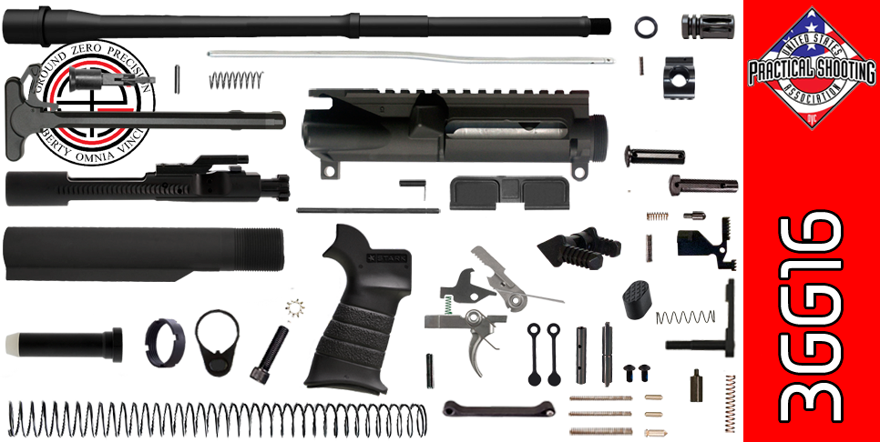 "DIY 16"" Multi-Gun Competition AR-15 Rifle Kit (3GG16)"