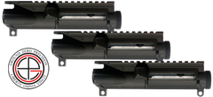 Stripped AR-15 Upper Receiver - 3 Pack