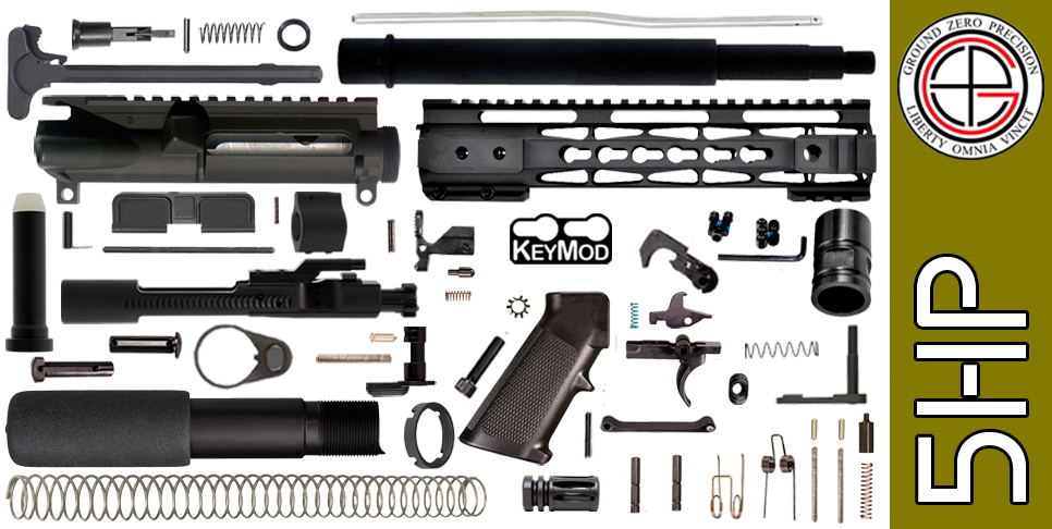 AR-15 Pistol Kit 5HP