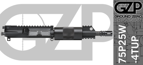 "7.5"" Free-Floated .223 / 5.56 AR-15 Upper Receiver - (75P25W-4TUP)"