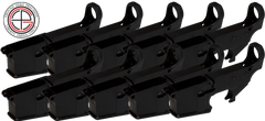 Mil-Spec 80% AR15 Lower Receiver - 10 PACK