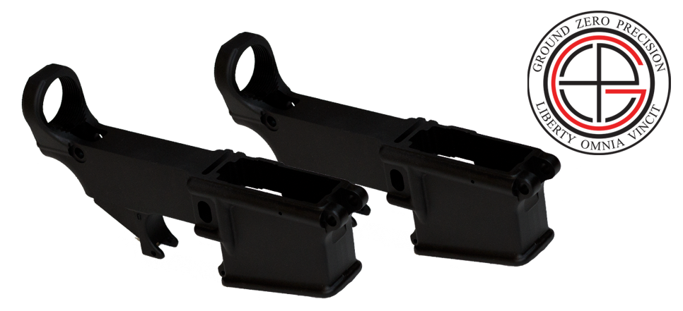 Mil-Spec 80% AR15 Lower Receiver - 2 PACK