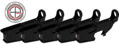 Mil-Spec 80% AR15 Lower Receiver - 5 PACK