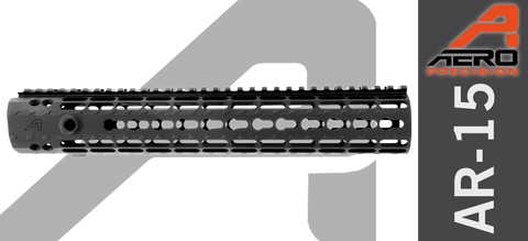 "12"" Aero Precision Enhanced Keymod Handguard - Gen II - Black"