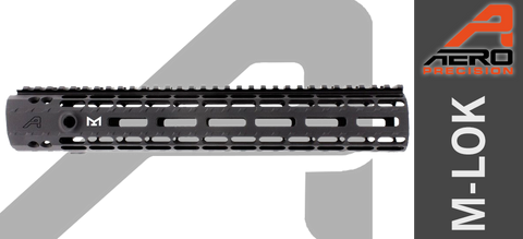 "12"" Aero Precision M5 Enhanced M-LOK Handguard for High Profile AR-10"