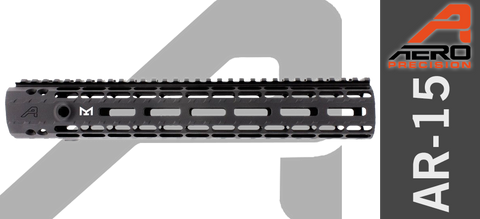 "12"" Aero Precision Enhanced M-Lok Handguard - Gen II - Black"