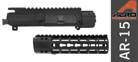 "7"" Aero Precision Assembled M4E1 Upper & Enhanced Keymod Handguard Combo - Gen II - Black"