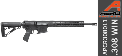 "Aero Precision M5E1 Complete Rifle, 16"" .308 CMV Mid-Length Barrel"