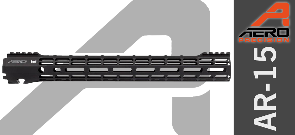 "Aero Precision ATLAS S-ONE 15"" Free Float AR15 Handguard"