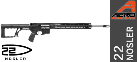 "Aero Precision M4E1 Enhanced 24"" Ultra-Match 22 Nosler X1"