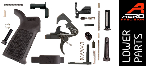 Aero Precision Enhanced AR15 Lower Parts Kit