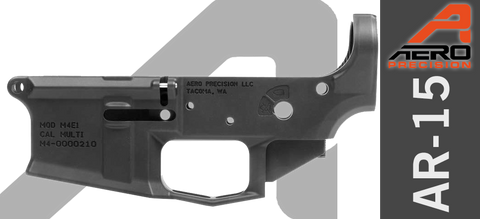 NEW! Aero Precision M4E1 Stripped Lower Receiver