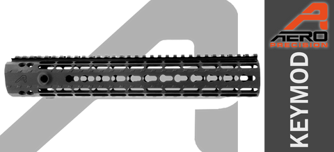 "12"" Aero Precision M5 Enhanced KEYMOD Handguard for High Profile AR-10"