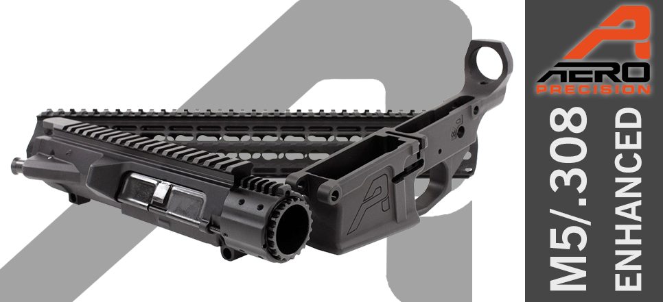"Aero Precision M5E1 DPMS AR10 .308 Enhanced Builder Set 12"" Handguard"