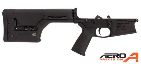 Aero Precision M5 Enhanced Complete Lower Receiver w/ Magpul MOE & PRS®