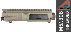 Aero Precision M5 .308 Upper FDE Threaded