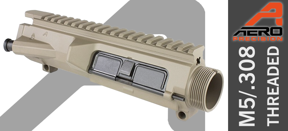 Aero Precision M5 .308 AR10 Upper FDE DPMS Threaded