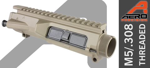 Aero Precision M5 Threaded Assembled Upper Receiver - FDE