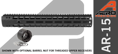 "Aero Precision 12"" M-Lok AR15 Enhanced Handguard"