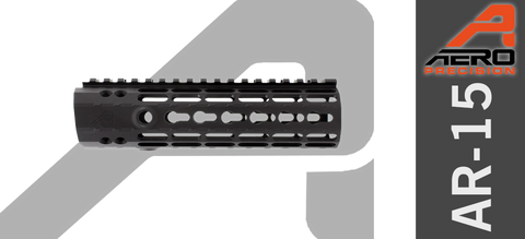 "7"" Aero Precision Enhanced Keymod AR-15 Handguard - Gen II - Black"