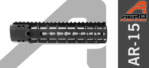"9"" Aero Precision Enhanced Keymod Handguard - Gen II - Black"