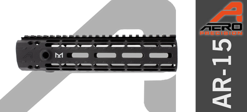 "9"" Aero Precision Enhanced M-Lok Handguard - Gen II - Black"