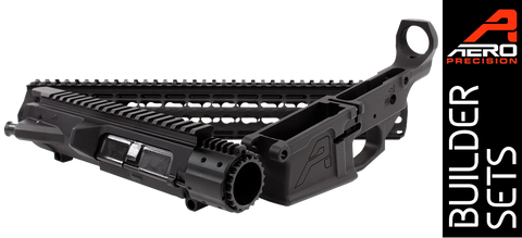 "Aero Precision M5E1 Enhanced .308 Builder Set w/ Gen 2 12"" Keymod Handguard - Black - FREE SHIPPING"