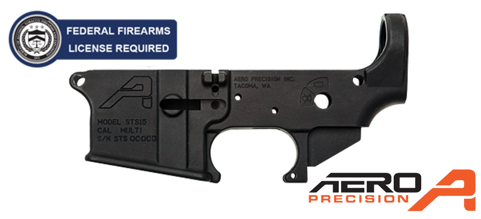 Aero Precision STS GEN II Stripped AR-15 Lower Receiver