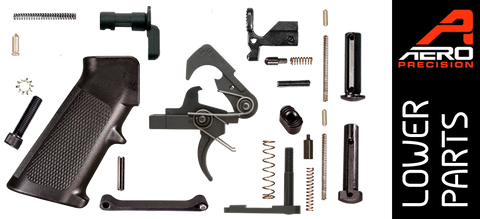 Aero Precision Standard AR15 Lower Parts Kit