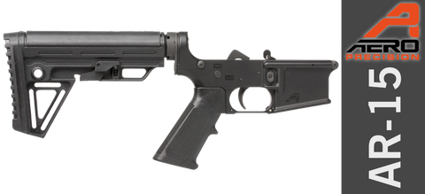 Aero Precision X15 Gen II AR-15 Carbine Complete Lower Receiver - Alpha
