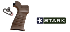 Stark Equipment ANG AR Pistol Grip with QD Sling Mount (FDE)