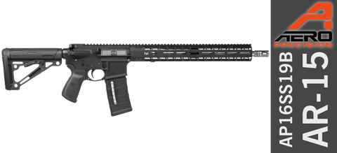 Aero Precision Tactical and Sporting Rifle AP16SS19B (M-Lok) - .223 / 5.56 Wylde - Stainless