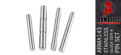 Armaspec Stainless Steel 4 Pin Kit Set for Glock Gen 4