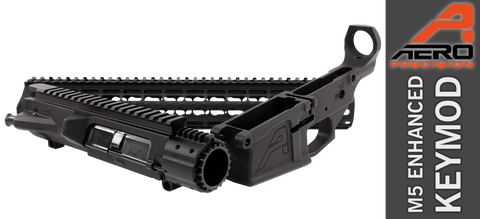 "Aero Precision M5E1 Enhanced .308 Builder Set w/ Gen 2 15"" KeyMod Handguard - Black - FREE SHIPPING"