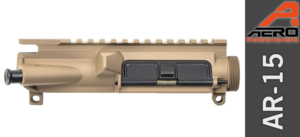 Aero Precision Assembled AR 15 Upper Receiver FDE