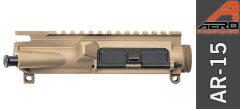 Aero Precision Assembled AR-15 Upper Receiver - Cerakote Magpul Flat Dark Earth