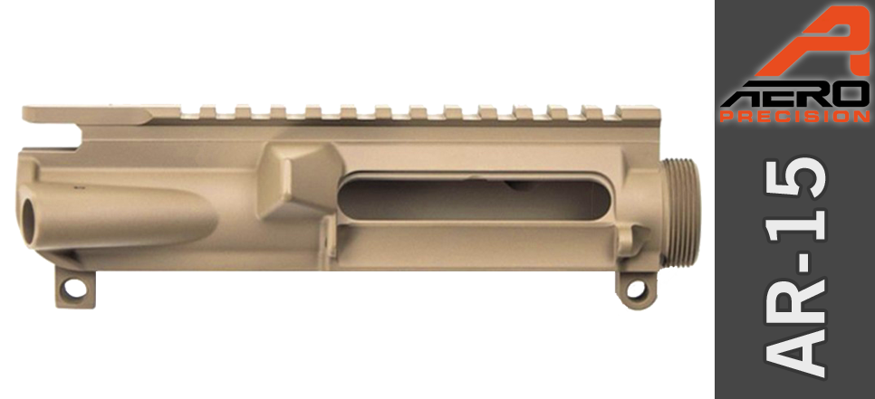 Aero Precision Stripped AR 15 Upper FDE