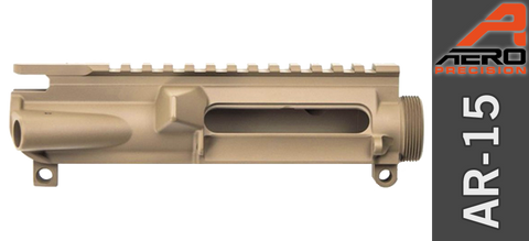 Aero Precision Stripped AR-15 Upper Receiver - Cerakote Magpul Flat Dark Earth