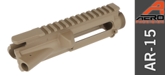 Aero Precision AR 15 Stripped Upper Flat Dark Earth