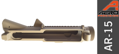 Stripped AR 15 Upper FDE