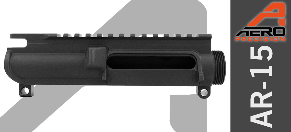 Aero Precision Stripped AR15 Upper No Forward Assist