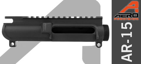 Aero Precision Stripped AR-15 Upper Receiver - No Forward Assist