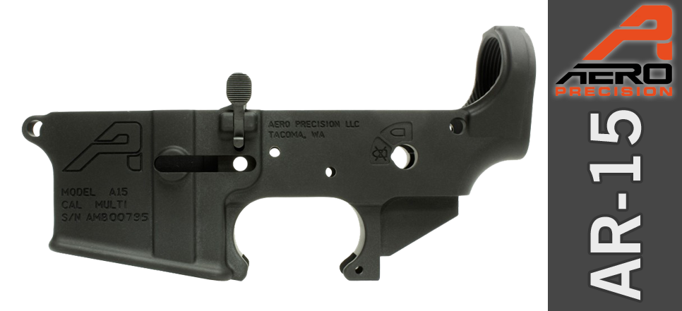 Aero Ambi AR 15 Lower Receiver
