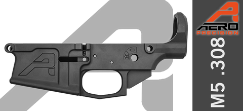 Aero Precision M5 Gen 2 Stripped AR10 Lower Receiver