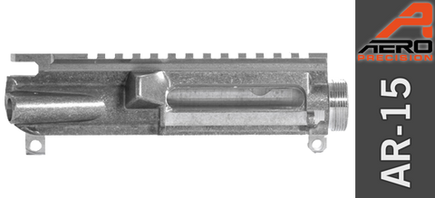 Aero Precision Stripped AR-15 Upper Receiver - Uncoated