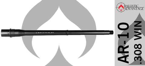 "16"" Ballistic Advantage Modern Series Tactical Government .308 WIN AR10 Barrel"