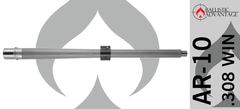 "18"" Ballistic Advantage Premium Series BA Hanson Heavy Profile Midlength .308 WIN AR10 Barrel"