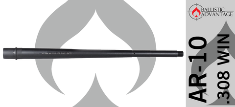 "18"" Ballistic Advantage Modern Series Rifle Gas .308 WIN AR10 Barrel"